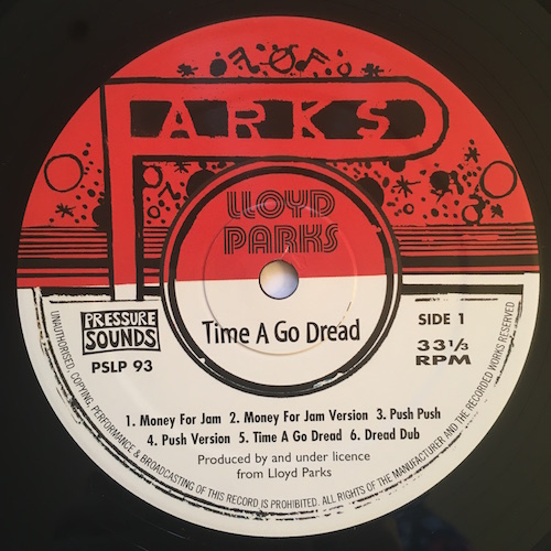 Lloyd Parks - Shake Up Yu Dread