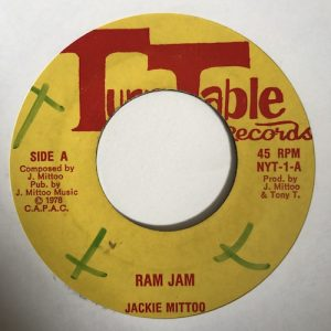 Jackie Mittoo – Ram Jam / Rendition