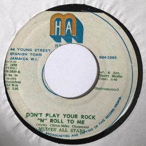 Owen Gray / Mudie's All Star – Don't Play Your Rock N Roll To Me