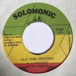 Bunny Wailer – Old Time Singting