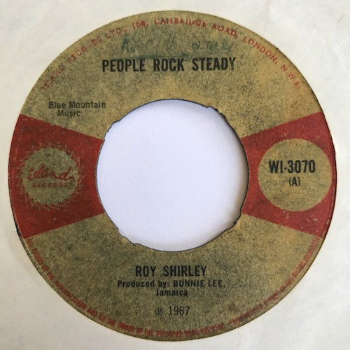 Roy Shirley People Rock Steady Trying To Find A Home
