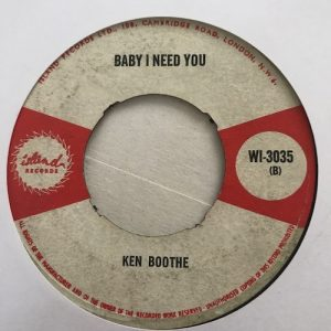Ken Boothe – I Don't Want To See You Cry