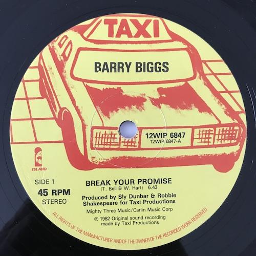 Barry Biggs – Break Your Promise
