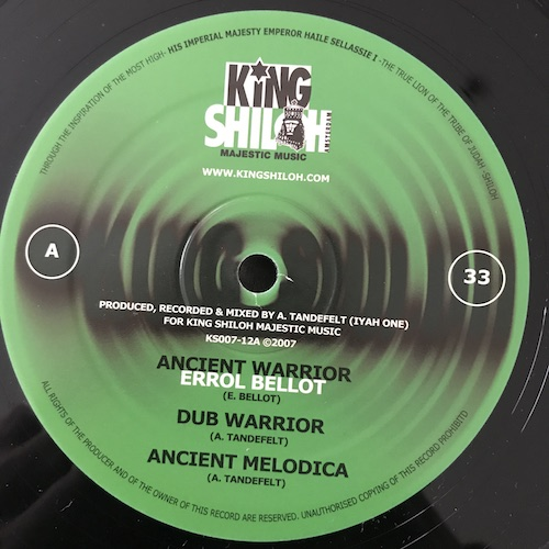 Errol Bellot - Afrikan Warrior EP
