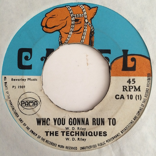 The Techniques – Who You Gonna Run To / Look Who Is Back