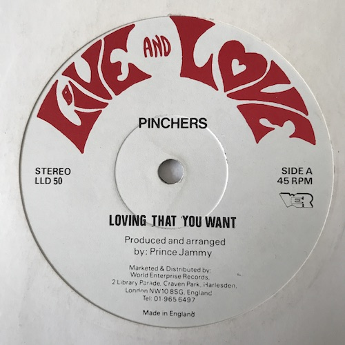 Pinchers – Loving That You Want