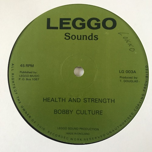 Bobby Culture – Health And Strength / Buenos Dias