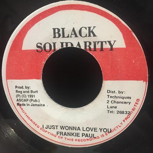 Frankie Paul / Grindsman – I Just Wonna Love You / Strong Fe Work