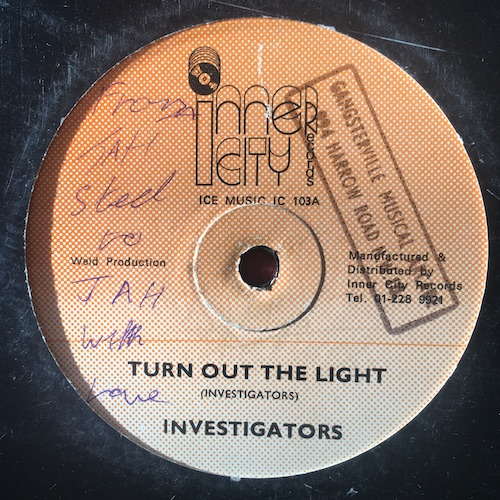 Investigators – Turn Out The Light