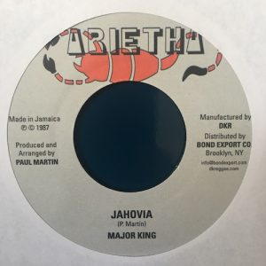 Major King – Jahovia