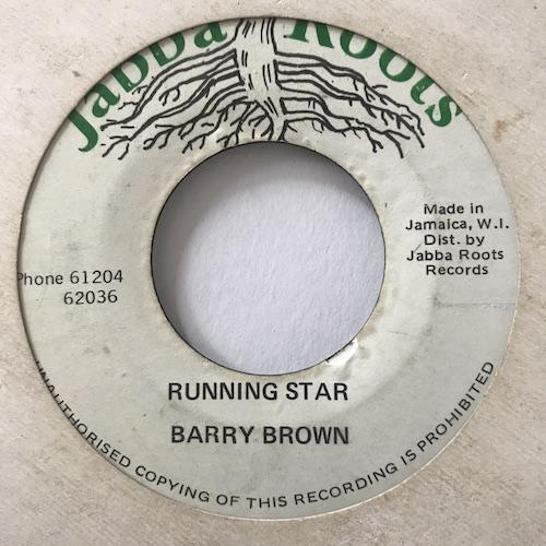 Barry Brown – Running Star