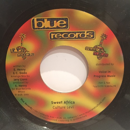 Culture Levi / Roger Robin – Sweet Africa / Minor Matters