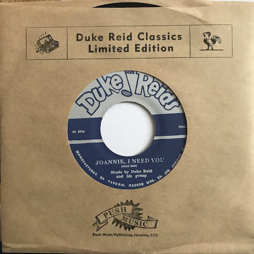 The Duke Reid Group – Joannie, I Need You