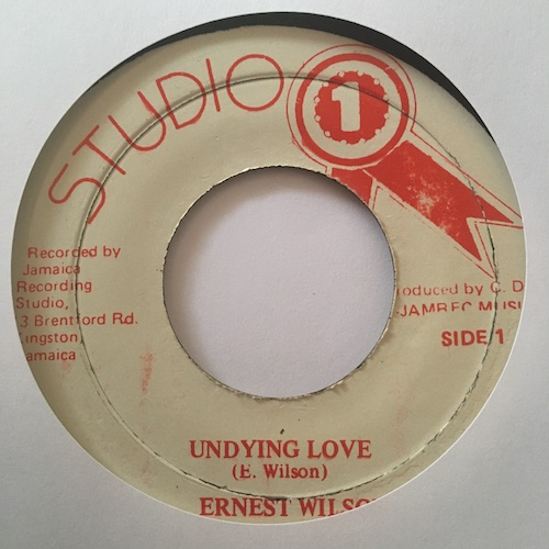 Ernest Wilson – Undying Love