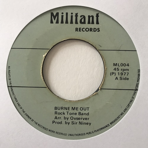 Rock Tone Band – Burne Me Out