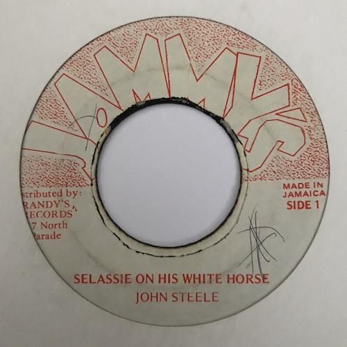 John Steele – Selassie On His White Horse