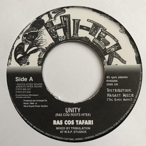 Ras Cos Tafari – Unity