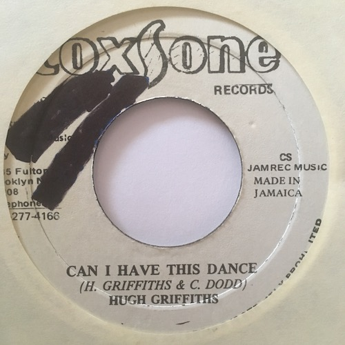 Hugh Griffiths – Can I Have This Dance