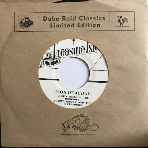 Justin Hinds & The Dominoes / Tommy McCook & The Supersonics – Lion Of Judah / Danger Man