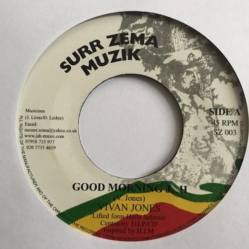 Vivian Jones – Good Morning Jah