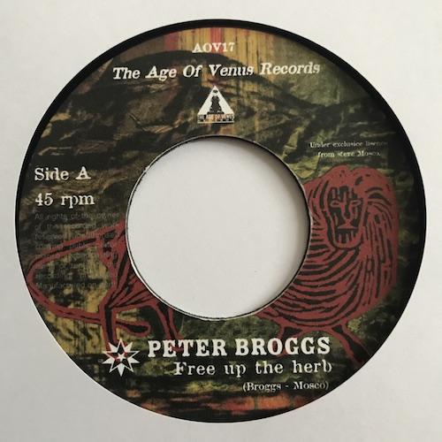 Peter Broggs & Jah Warrior – Free Up The Herb