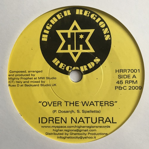 Idren Natural – Over The Waters