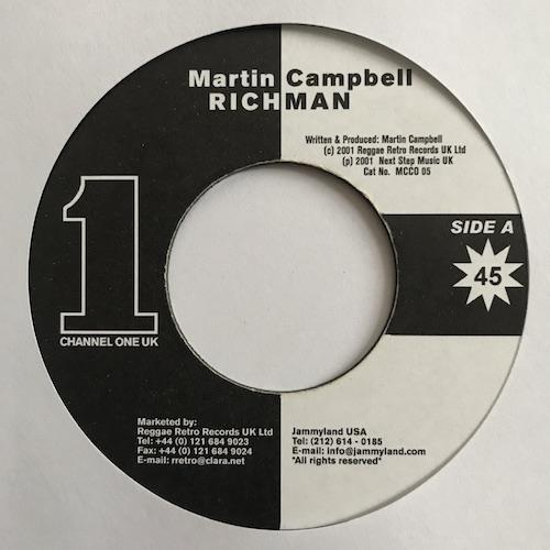 Martin Campbell – Richman