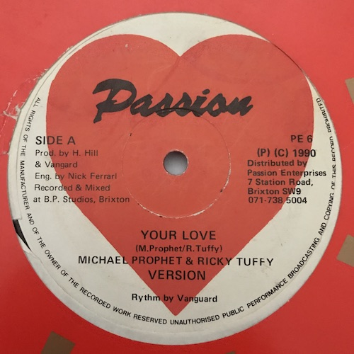 Michael Prophet & Ricky Tuffy – Your Love