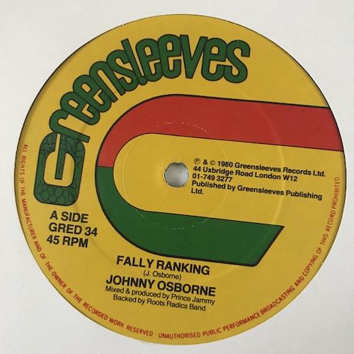 Johnny Osborne – Fally Ranking