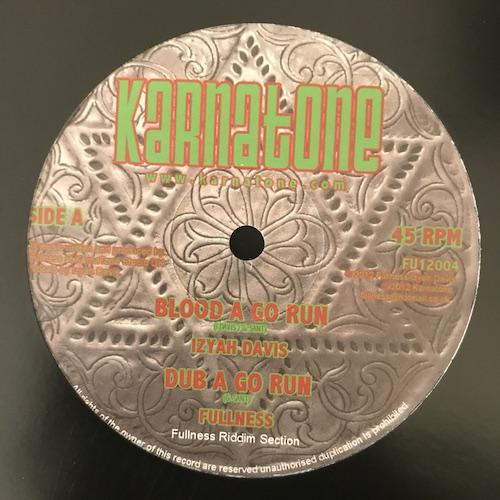 Izyah Davis / Bunnington Judah – Blood A Go Run / Bad Mind