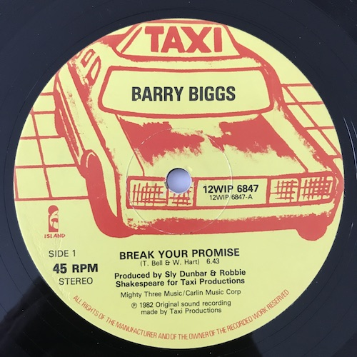 Barry Biggs – Break Your Promise