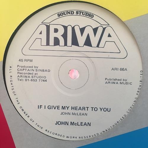John McLean / Professor Doppler – If I Give My Heart To You / Doppler Effect