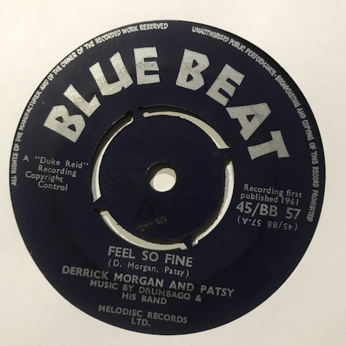 Derrick Morgan And Patsy / Roland Alphonso – Feel So Fine / Mean To Me