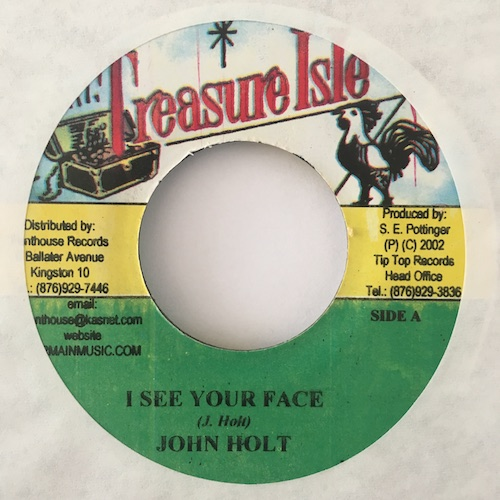 John Holt – I See Your Face