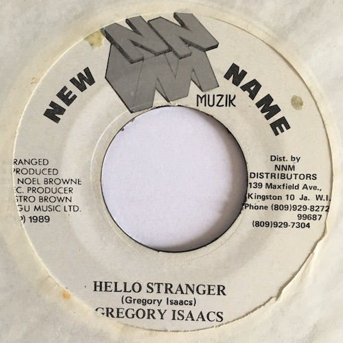 Gregory Isaacs – Hello Stranger