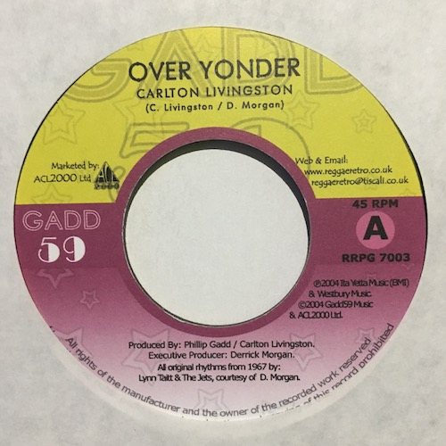 Carlton Livingston / Cornelius Herb – Over Yonder / Straight Up