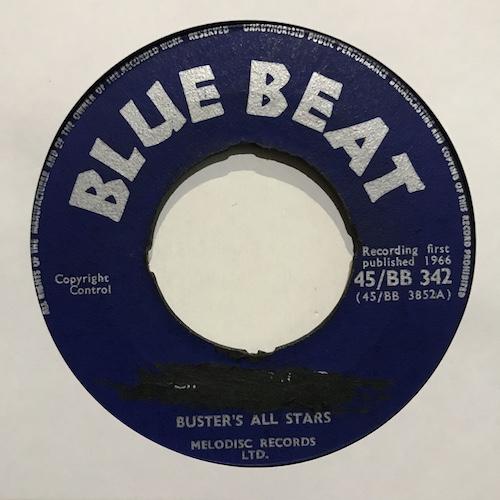 Buster's All Stars – Cincinnatti Kid / Sammy Dead