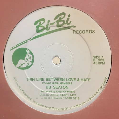 BB Seaton – Thin Line Between Love & Hate