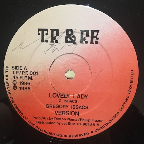 Gregory Issacs / Phillip Frazer – Lovely Lady / Just A Dream