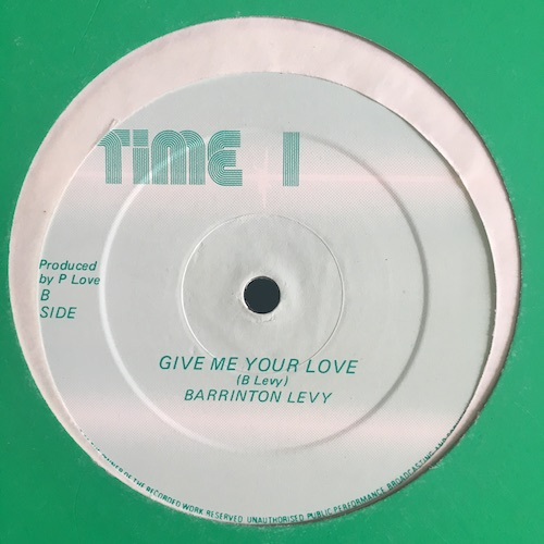 Barrington Levy / Jah Screw – Real Thing / Real Dub