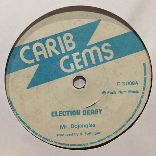 Mr. Bojangles – Election Derby