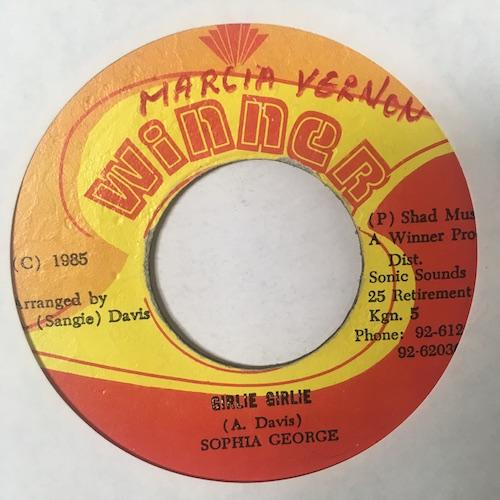 Sophia George / Winner All Stars – Girlie Girlie / Girl Rush