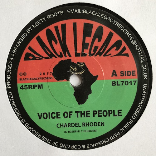 Chardel Rhoden – Voice Of the People