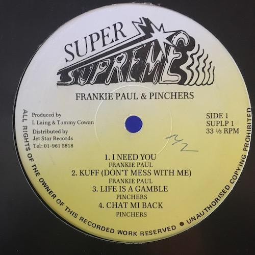 Frankie Paul + Pinchers – Turbo Charge