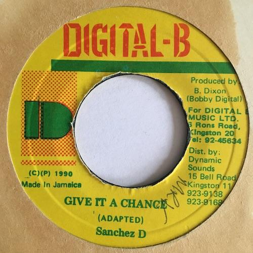 Sanchez D – Give It A Chance
