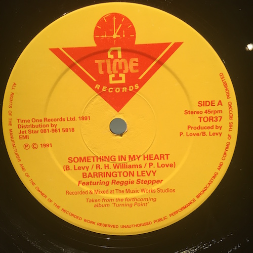 Barrington Levy – Something In My Heart