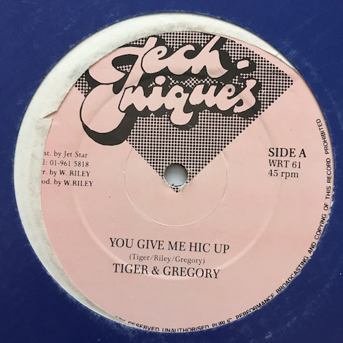 Gregory & Tiger – You Give Me Hic Up