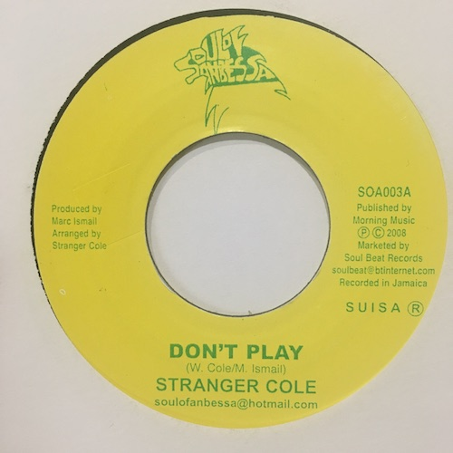 Stranger Cole – Don't Play