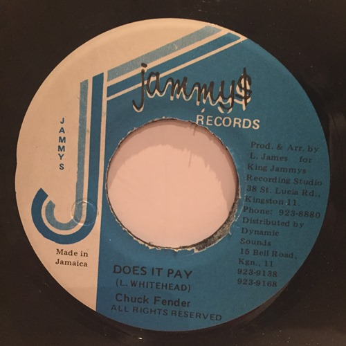 Chuck Fender – Does It Pay