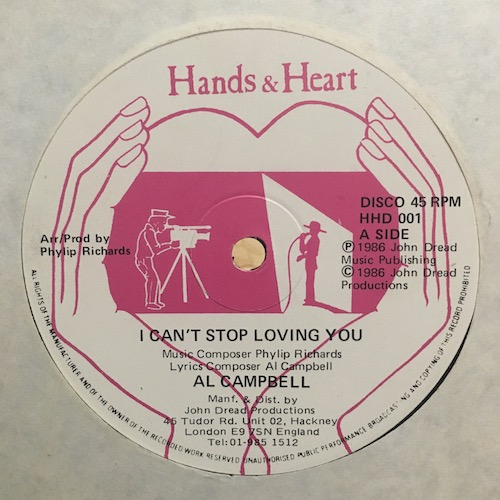 Al Campbell – I Can't Stop Loving You